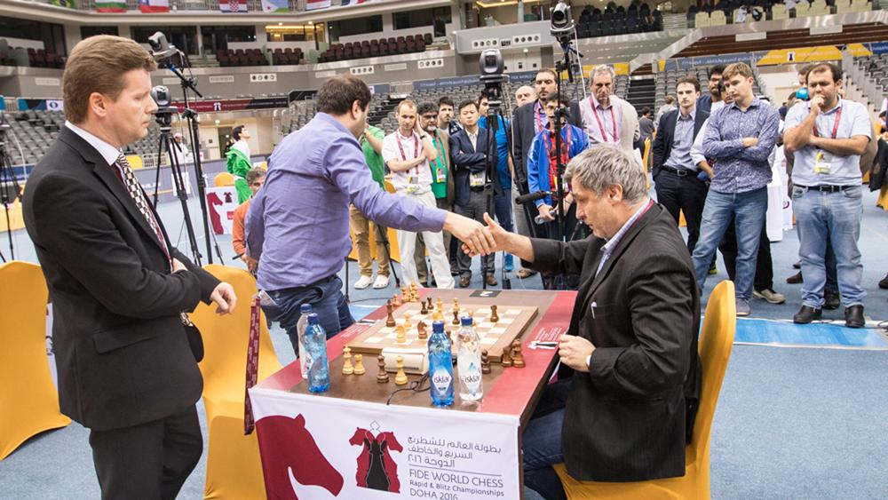 Ivanchuk Leads World Rapid After Day 2