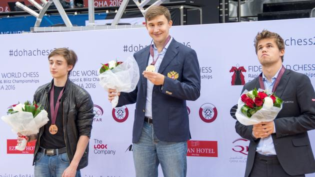 Karjakin Wins World Blitz Championship