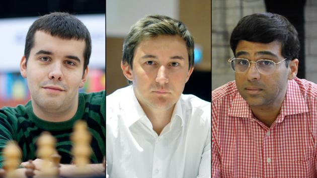 Grand Chess Tour Announces Rating System, Wildcards