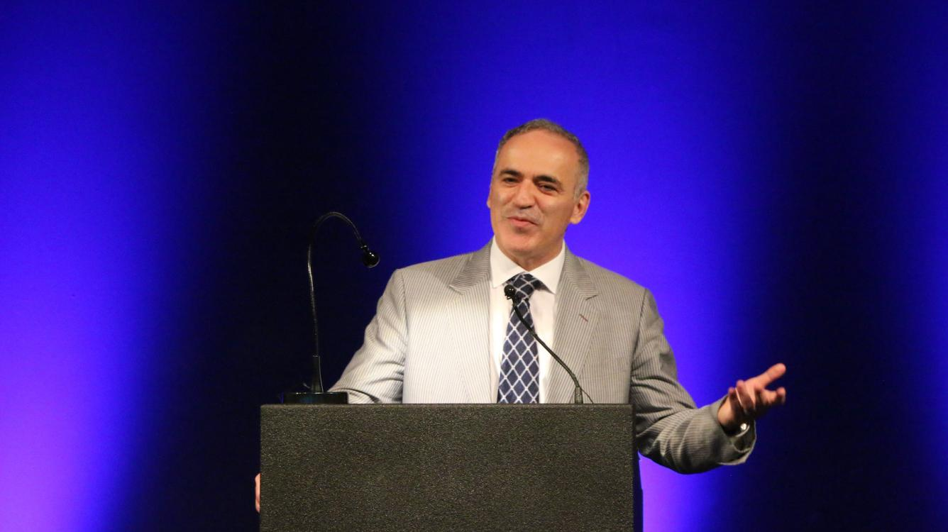 Chess In The White House And Kasparov Wins Again