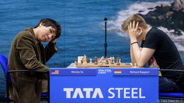 Tata Steel R3: So arruina una brillante partida de Rapport