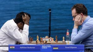 Tata Steel R4: Eljanov lidera en solitario con 3,5/4