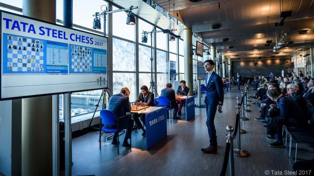 So Grabs Tata Lead; Carlsen Plays Football