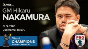 Miniatura de Liga PRO de Ajedrez 2017 II: MVL y Nakamura sufren