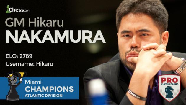 Liga PRO de Ajedrez 2017 II: MVL y Nakamura sufren
