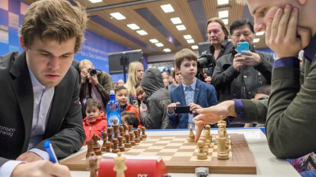 Tata Steel Ronda 8: Rapport vence a Carlsen