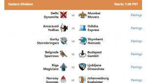 PRO Chess League: Week 3 Pairings's Thumbnail