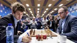 Miniatura de Tata Steel Ronda 12: Victorias para Carlsen y Aronian