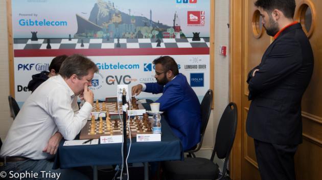Nakamura, MVL, Yangyi y Anton lideran en Gibraltar