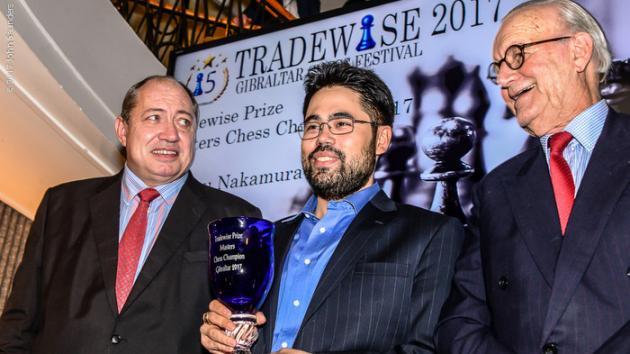 Gibraltar: Nakamura campeón; Antón deslumbra
