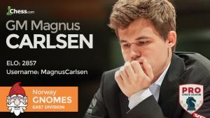 Miniatura de Carlsen y Caruana debutarán en la Liga PRO de ajedrez 2017