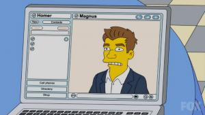Magnus Carlsen entrena a Homer Simpson's Thumbnail