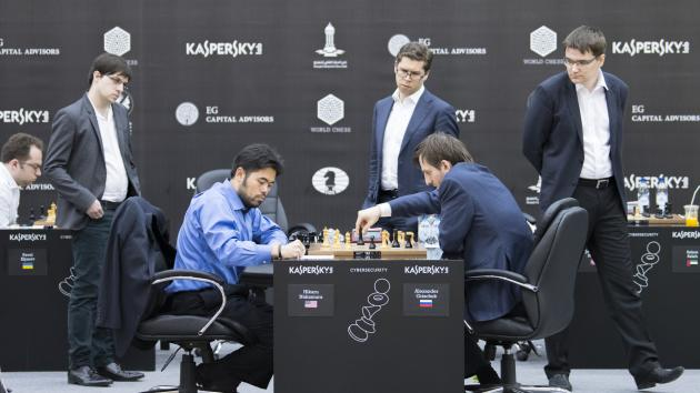 Grischuk Survives Epic Battle Vs Nakamura