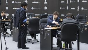 Endgame Technique Yields Grischuk Shared First