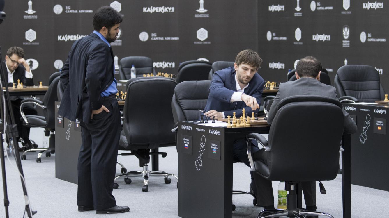 Endgame Technique Yields Grischuk Shared First