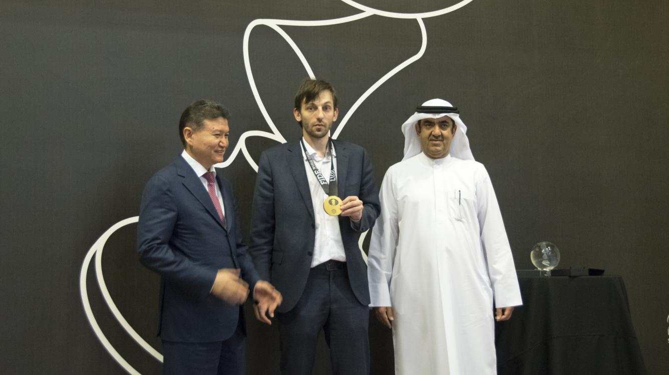 Grischuk, Mamedyarov, MVL Share 1st At Sharjah Grand Prix