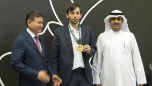 Miniatura de Alexander Grischuk gana el Gran Premio de Sharjah