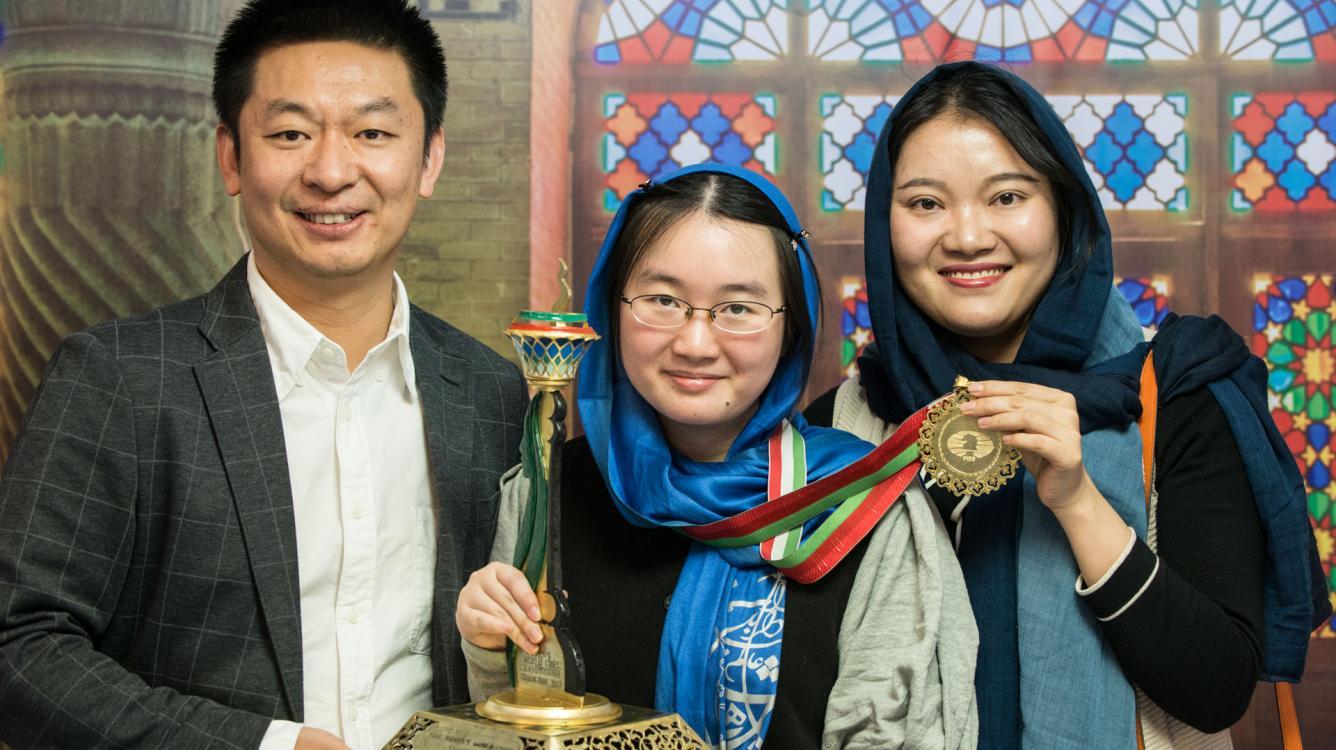 And The Winner Is... Women's World Champion Tan Zhongyi