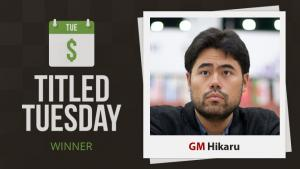 Nakamura Almost Perfect At Titled Tuesday's Thumbnail