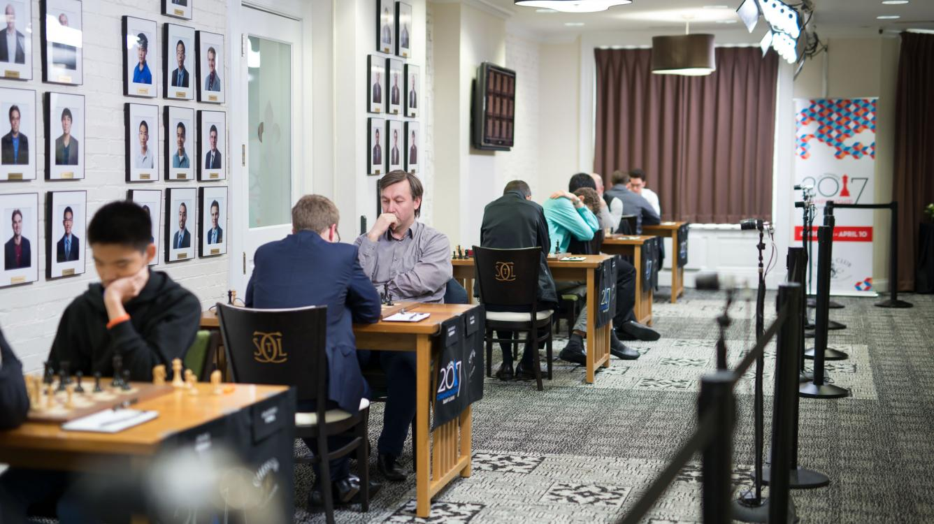 U.S. Chess Championship Starts With Wins From So And Nakamura
