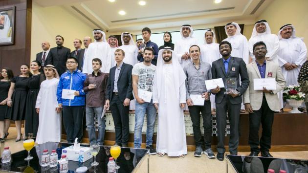 Wang Hao gana el torneo de maestros de Sharjah