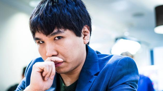 So Grabs Lead At U.S. Chess Champs
