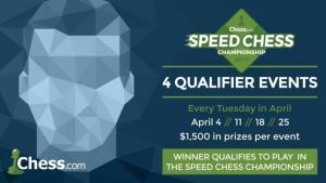 Les vainqueurs des 4 Titled Tuesdays d'Avril se qualifieront pour le Speed Chess Championship's Thumbnail