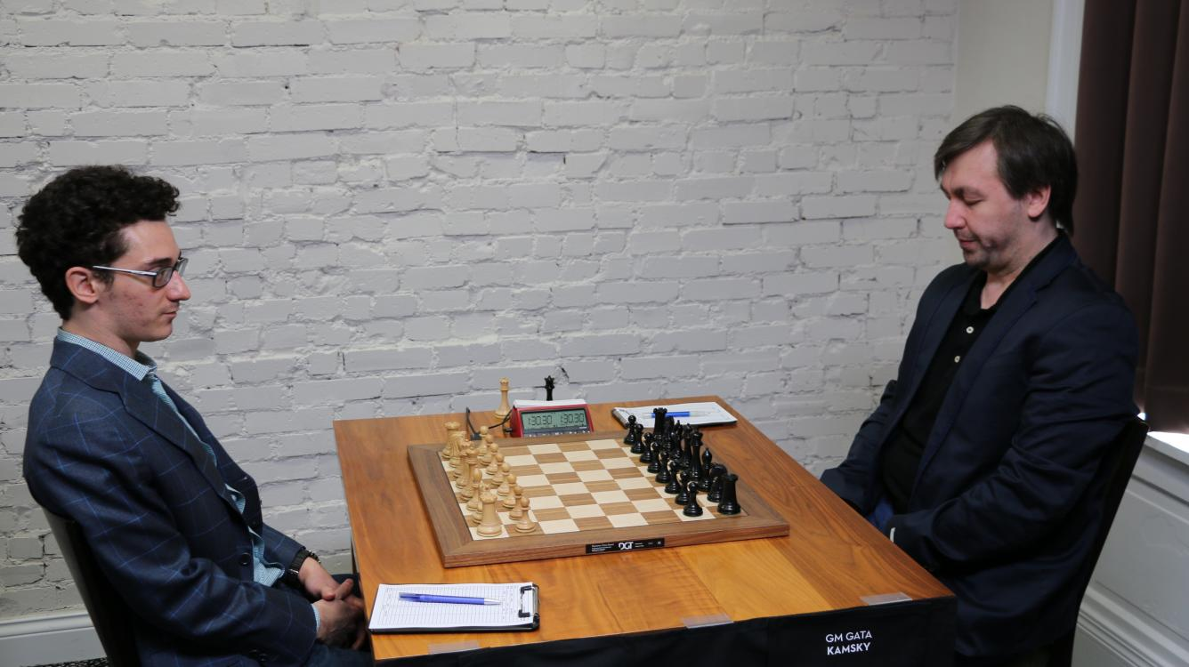 Caruana Breaks Through As So Nearly Falters