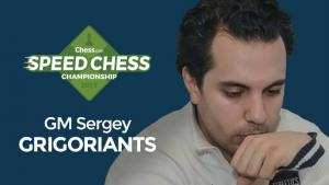 Grigoriants Wins 1st Speed Chess Champs Qualifier's Thumbnail
