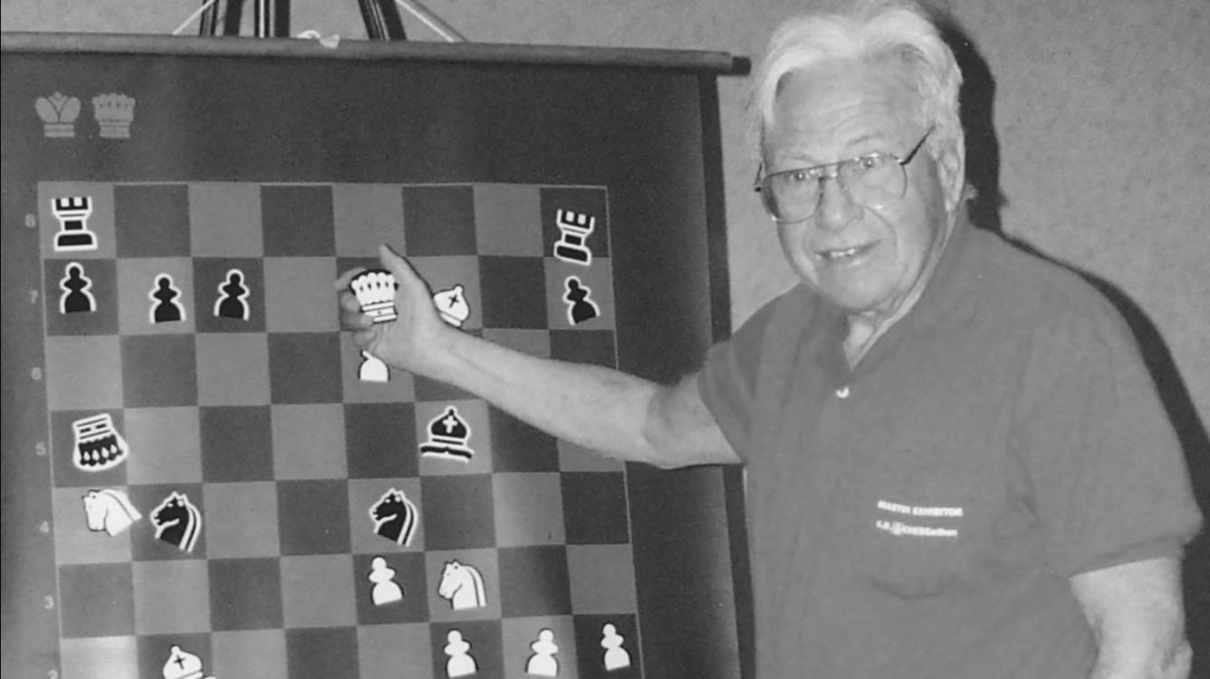 GM Arthur Bisguier, 1929-2017