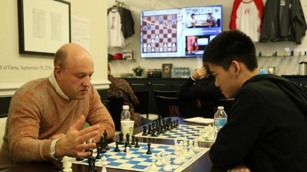 Eine Sensation und die Partie des Turniers in Runde 7
