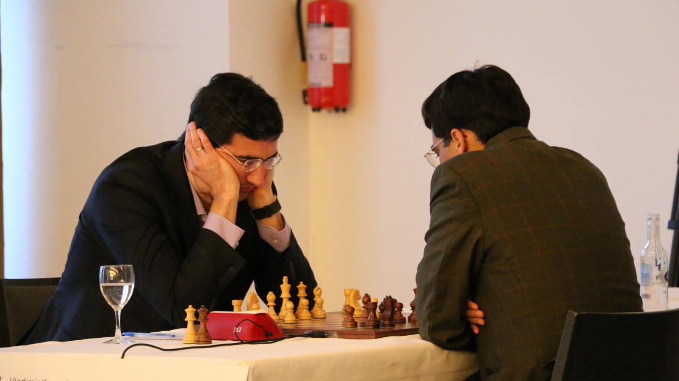 Kramnik, Nakamura Early Leaders In Zurich's 'New Classical'