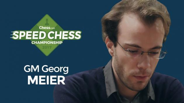 Meier Ganha 2a. Qualificação Para Rápida de Xadrez no Meio do Drama de Nakamura