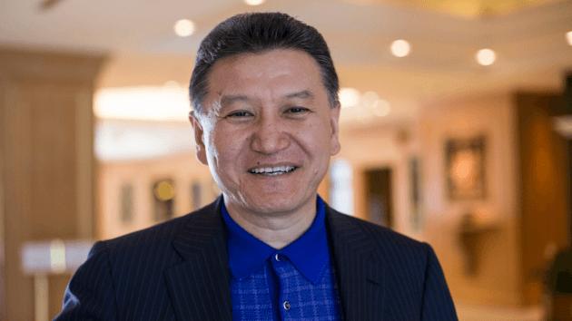 Ilyumzhinov candidat pour l'élection à la présidence de la FIDE en 2018
