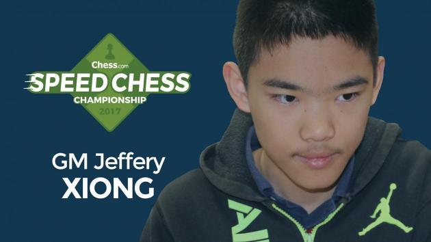 Juniorenweltmeister Xiong qualifiziert sich für die Speedschachmeisterschaft