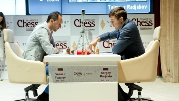 Карякин и Со выигрывают первые партии в Шамкире