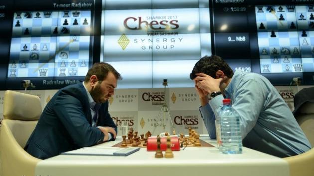 Mamedyarov baut seine Führung aus - Kramnik strauchelt