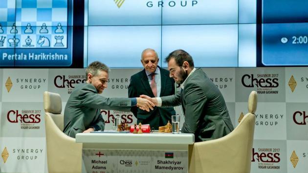 Mamedyarov liegt in Shamkir weiter in Führung