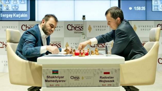 Brilliant Wojtaszek Surging In Shamkir