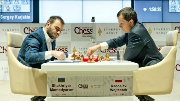 Wojtaszek brillant relance le tournoi à Shamkir!