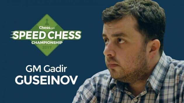 Guseinov Agarra Lugar Final de Qualificação Para o Speed Chess