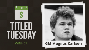 Magnus Carlsen Dominates May Titled Tuesday's Thumbnail