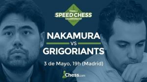 Speed Chess: Nakamura elimina a Grigoriants's Thumbnail