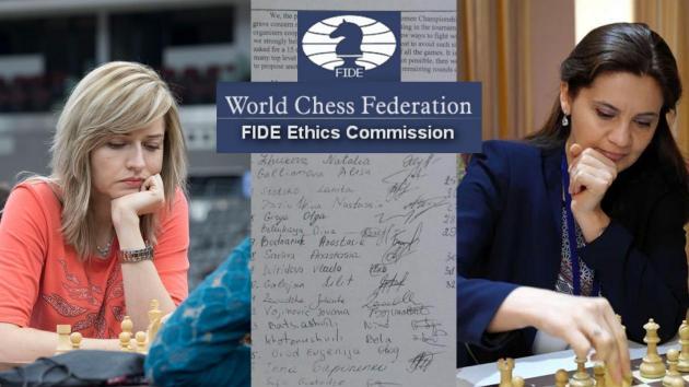 La comisión de ética propone una sanción de 3 meses para Zhúkova