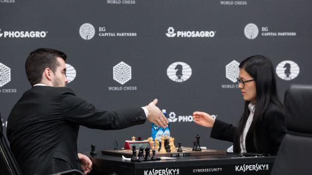Hou Yifan seule gagnante lors de la première ronde du GP Moscou