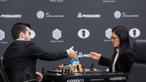 Hou Yifan ist die einzige Gewinnerin der ersten Runde des Moskau GP's Thumbnail