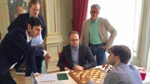 Miniatura de Grandelius y Jobava ganan el torneo Tepe Sigeman & Co