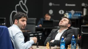 Mamedyarov bryter 2800-grensen, tar igjen Ding i Moskva's Thumbnail
