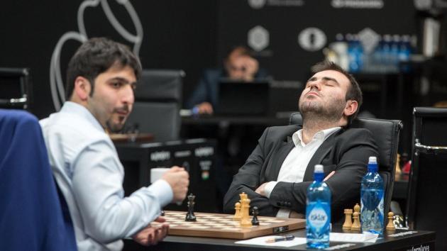 Mamedyarov atteint les 2800 élo et rattrappe Ding en tête