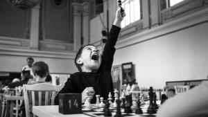 Miniatura de Un proyecto de ajedrez, segundo en el World Press Photo